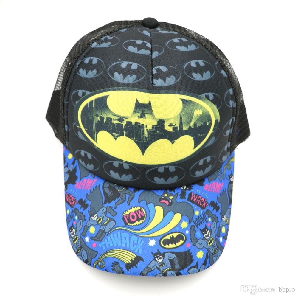 43e50092c4a 2019 Anime Batman Baseball Caps Adjustable Snapback Hip Hop Cap Men Women  Fashion Accessories Mesh Hats For Gift From Bbpro, $5.97   DHgate.Com