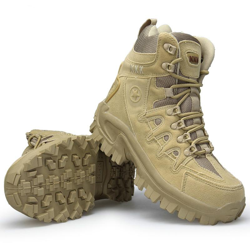 cd3217cd7 High Quality Military Flock Desert Boots Men Shoes Tactical Combat Boots  Delta Coturnos Masculino Militar Botas 40-46 XX-354 Online with  $133.89/Piece on ...