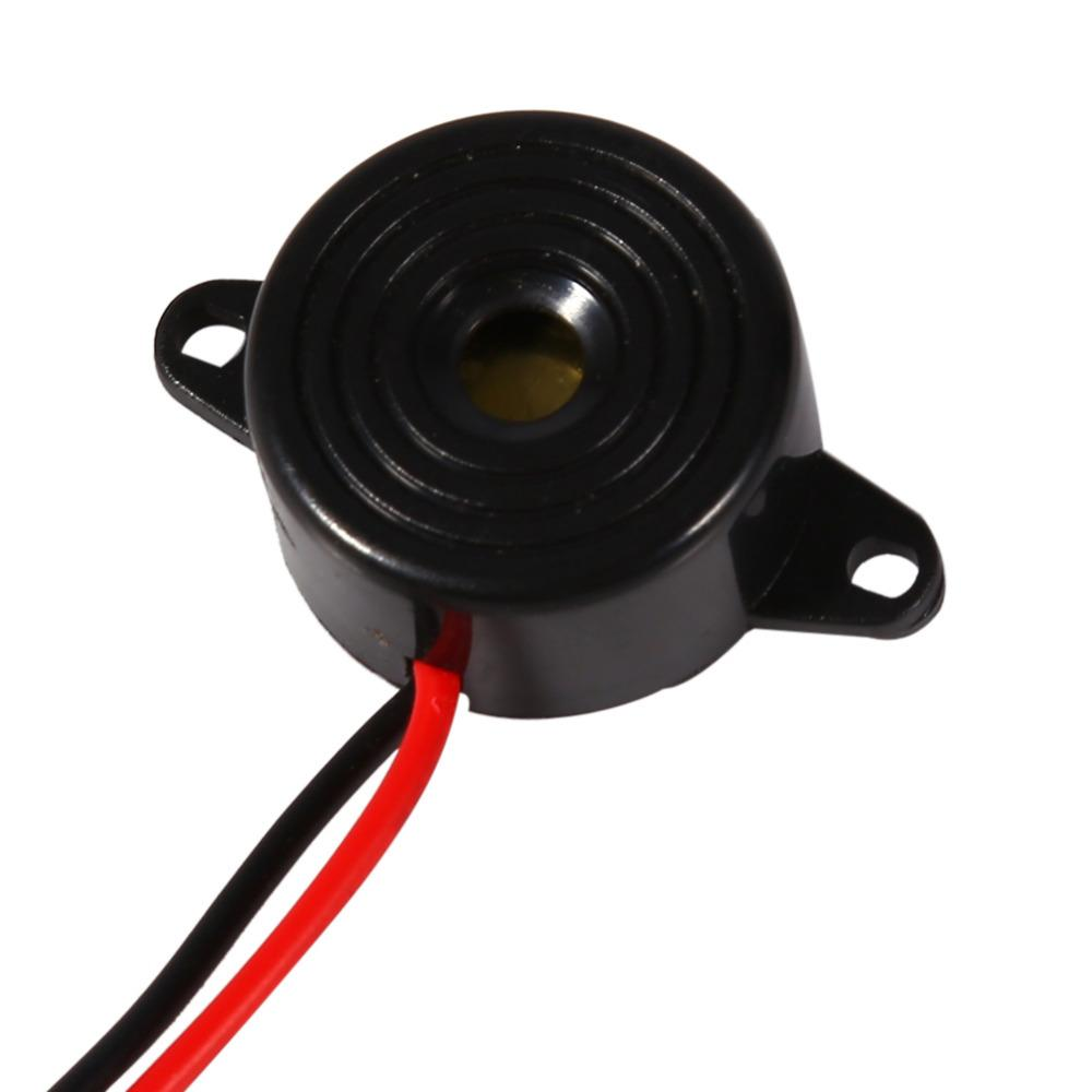 Freeshipping Newstyle 50 Pieces/Lot Electronic Sounder 3-24V Piezo  Electronic Tone Buzzer Alarm Continuous Sound Alert Buzzer 100mm Cable