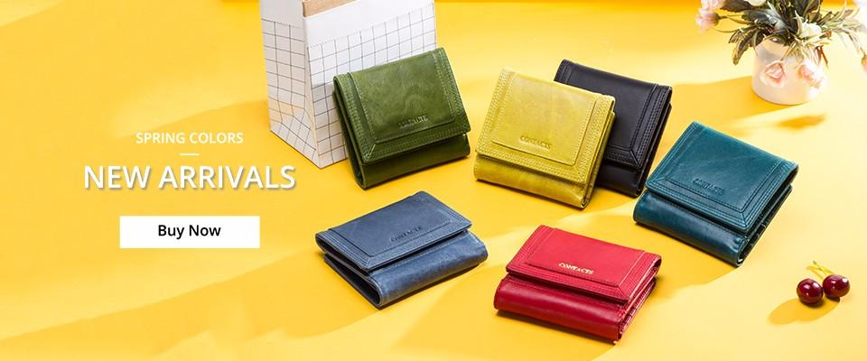 2018 Coin Purse Women Wallet Card Holder Genuine Leather Female Long Clutch Wallets Large Capacity Cell Phone Pocket Fashion