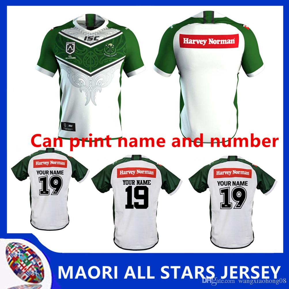 f742b174dc8 2019 NRL RUGBY JERSEY Australia INDIGENOUS ALL STARS 2019 JERSEY New ...