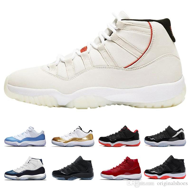 4fd7026aba5798 11s Mens Basketball Shoes Platinum Tint Concord 45 Prom Night 11 Legend Blue  Bred Gamma Blue Trainers Sport Basketball Sneakers Shoes 40 47 Jordans  Shoes ...