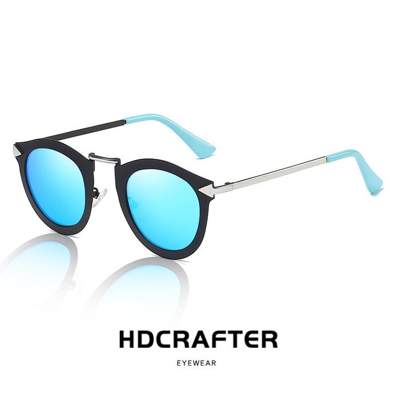 ef97668798 Retro Cat Eye Sunglasses Women Polarized Metal Frame Mirror UV400 Sun  Glasses Brand Designer Vintage Lunette De Soleil Femme Online with   39.73 Piece on ...