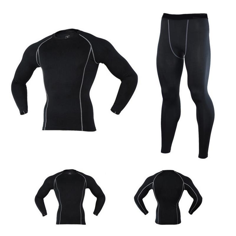 Sports Running Cycling Training Quick-Drying Tight Suit - Elastic Fitness Pants Football Basketball Bottoming Pants
