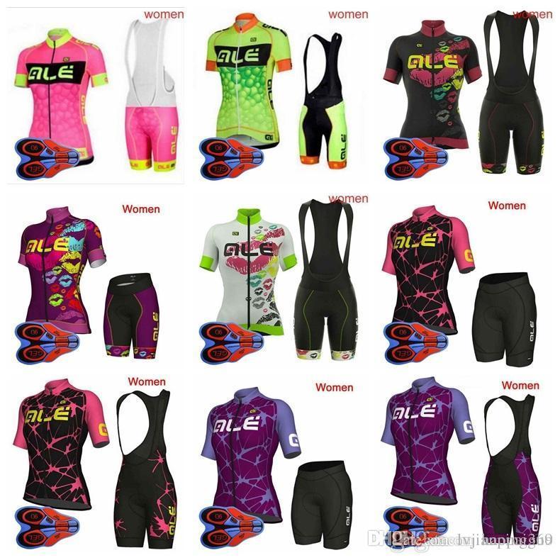Ale Team Cycling Jersey Bib Shorts Short Sleeve Cycling Set Ropa ... 536708236