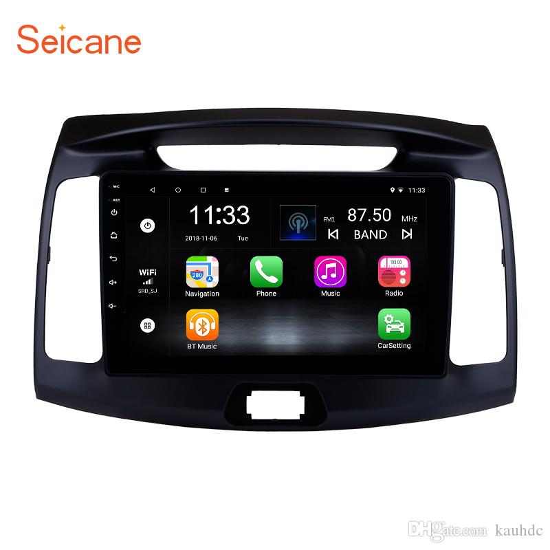 9 inch OEM Android 7 1 Touchscreen Car Stereo for 2011 2012 2013-2016  Hyundai Elantra with WIFI GPS Navi Bluetooth support 4G Rear Camera