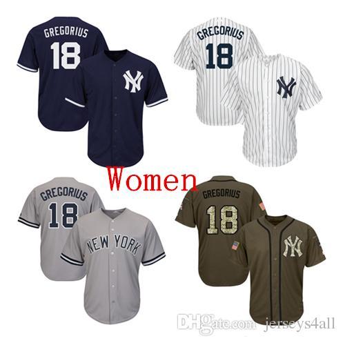 b231a349914 3538b aea1e  inexpensive 2019 womens new york yankees baseball jerseys 18 didi  gregorius jersey navy blue white gray