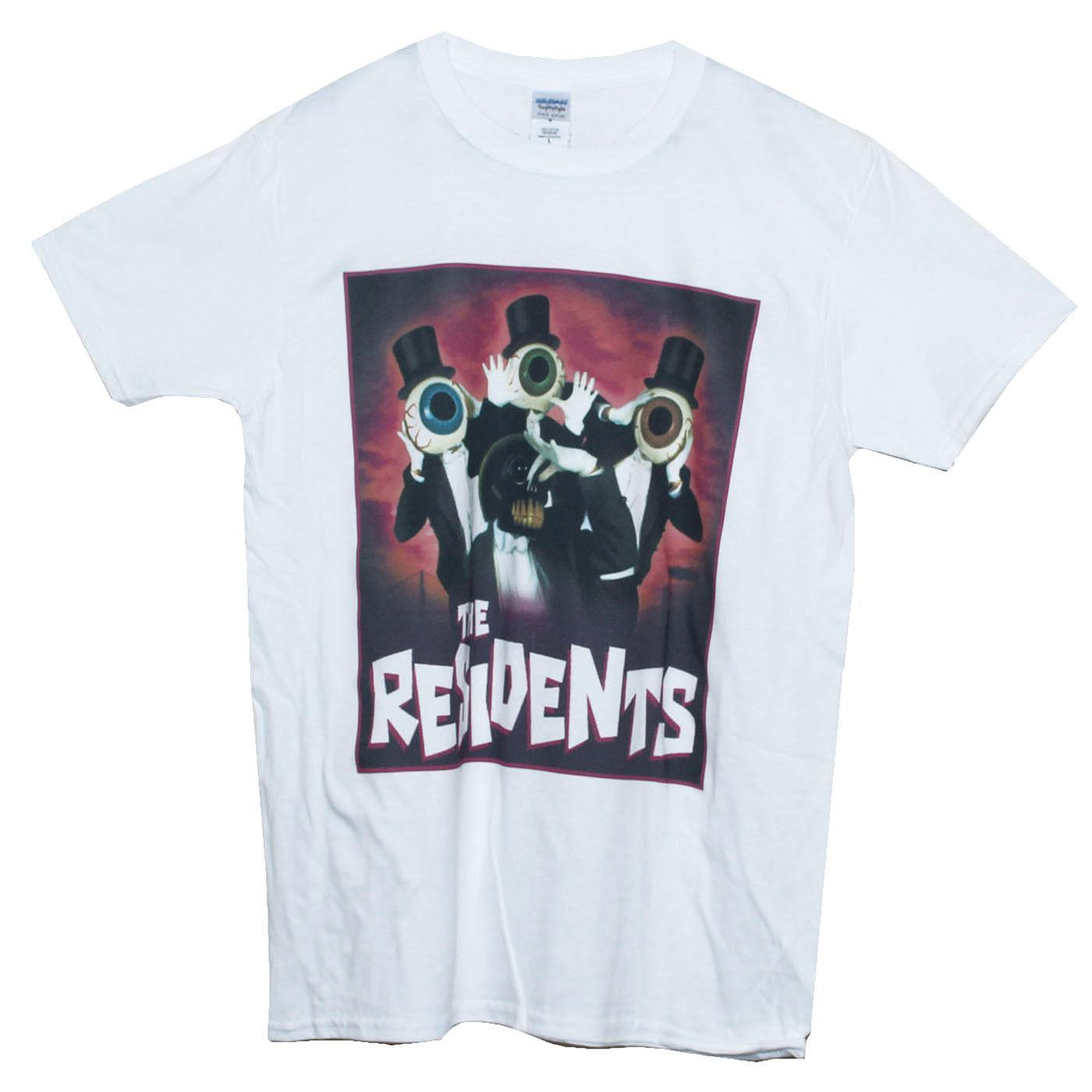 Art Avant Garde The Residents тенниска Noise Punk Rock Graphic Tee Мужчины Женщины