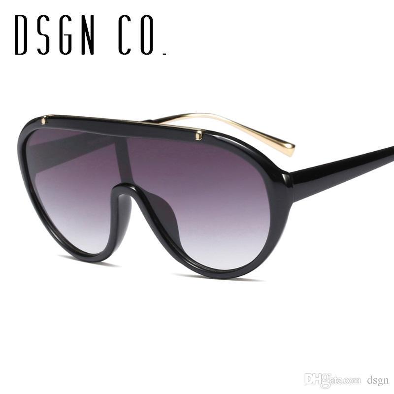 34642af8d92 DSGN CO. 2018 Vintage Oversize Pilot Sunglasses For Men And Women ...