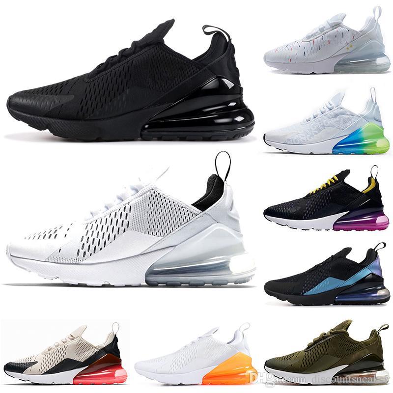 size 40 c1493 ba949 Nike air max 270 Triple negro retroceso futuro Be True Tea Berry punto  negro Diseñador Deportes para hombre Zapatillas de deporte Entrenadores  tamaño ...
