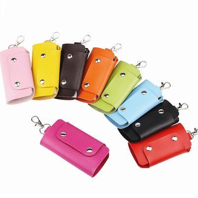 best selling KEY HOLDER top qualiy Coated canvas real Leather Lining Fashion wallet Free Delivery bag 2019 Old cobblerc06b#