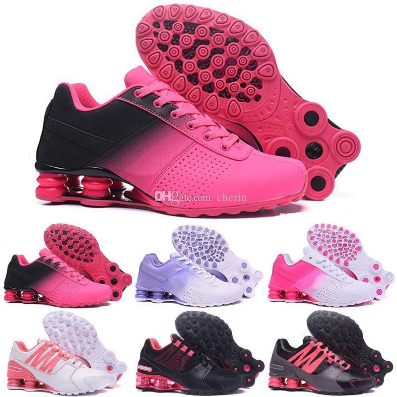 8087424e9 Compre Los Zapatos 2019 SHOX Avenue 802 Entregan La Marca De Calzado Para Mujer  NZ R4 809 Para Zapatillas De Deporte Shox Con Cojín De Aire