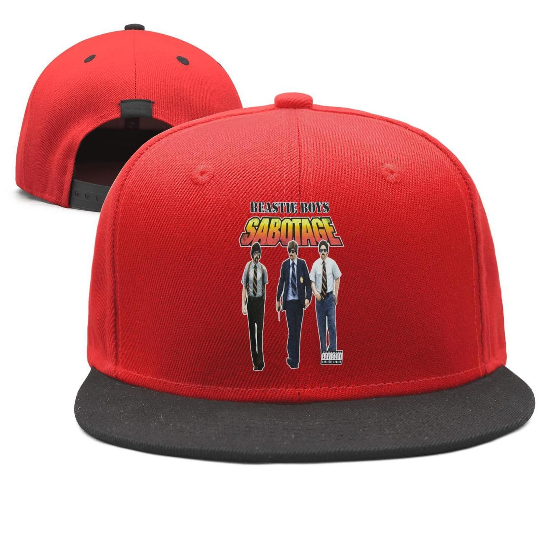 807a94139de7 The Beastie Boys Sabotage Design Snapback Flat Brim Baseball Cap Hip Hop  Dad Hats Adjustable Summer Beach Activities Boonie Hat Fedoras From  Hotcaps, ...