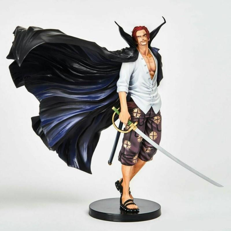NEW hot 18cm One Piece Shanks Stylist action figure toys collection doll Christmas gift with box T200106