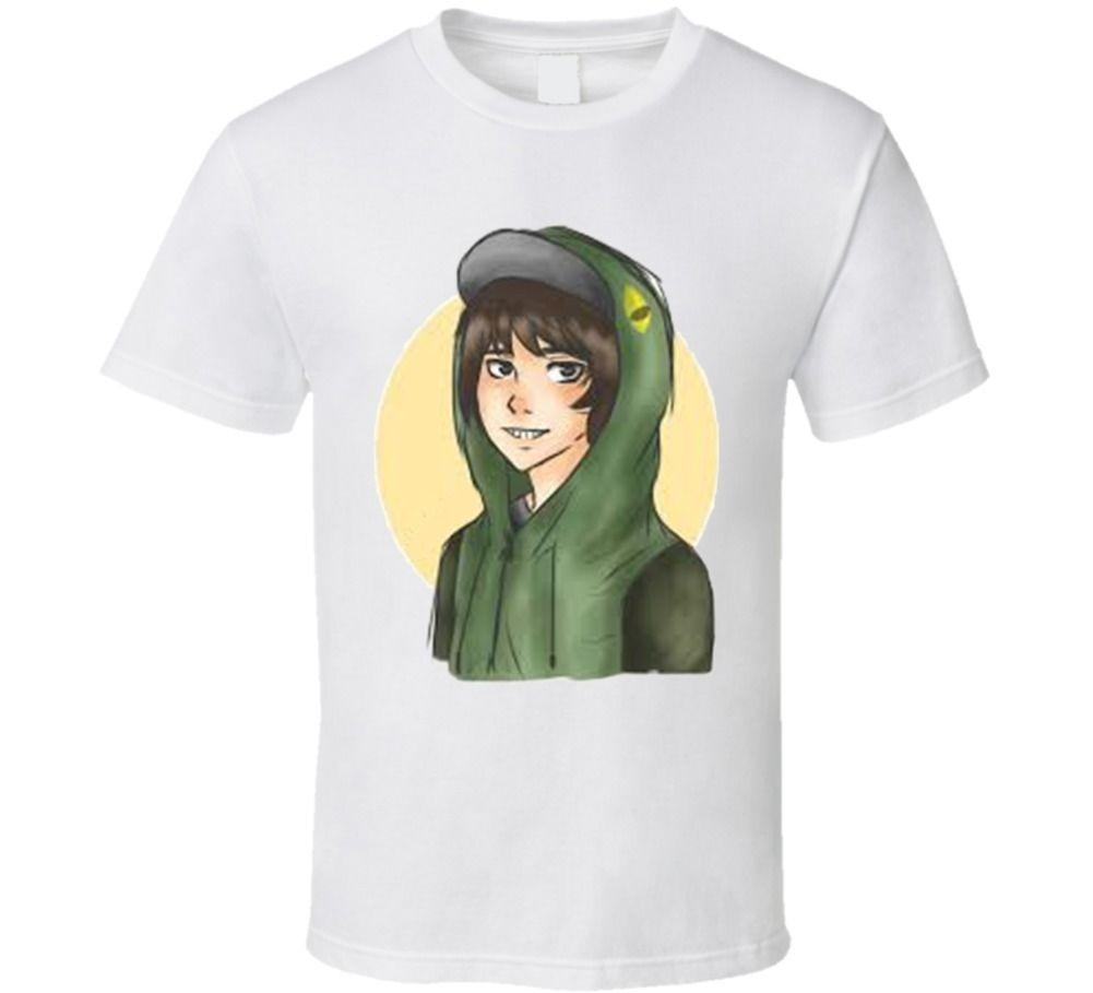 Leafyishere, Leafy is here Youtuber Sketch Concept T Shirt Funny free  shipping Unisex Casual