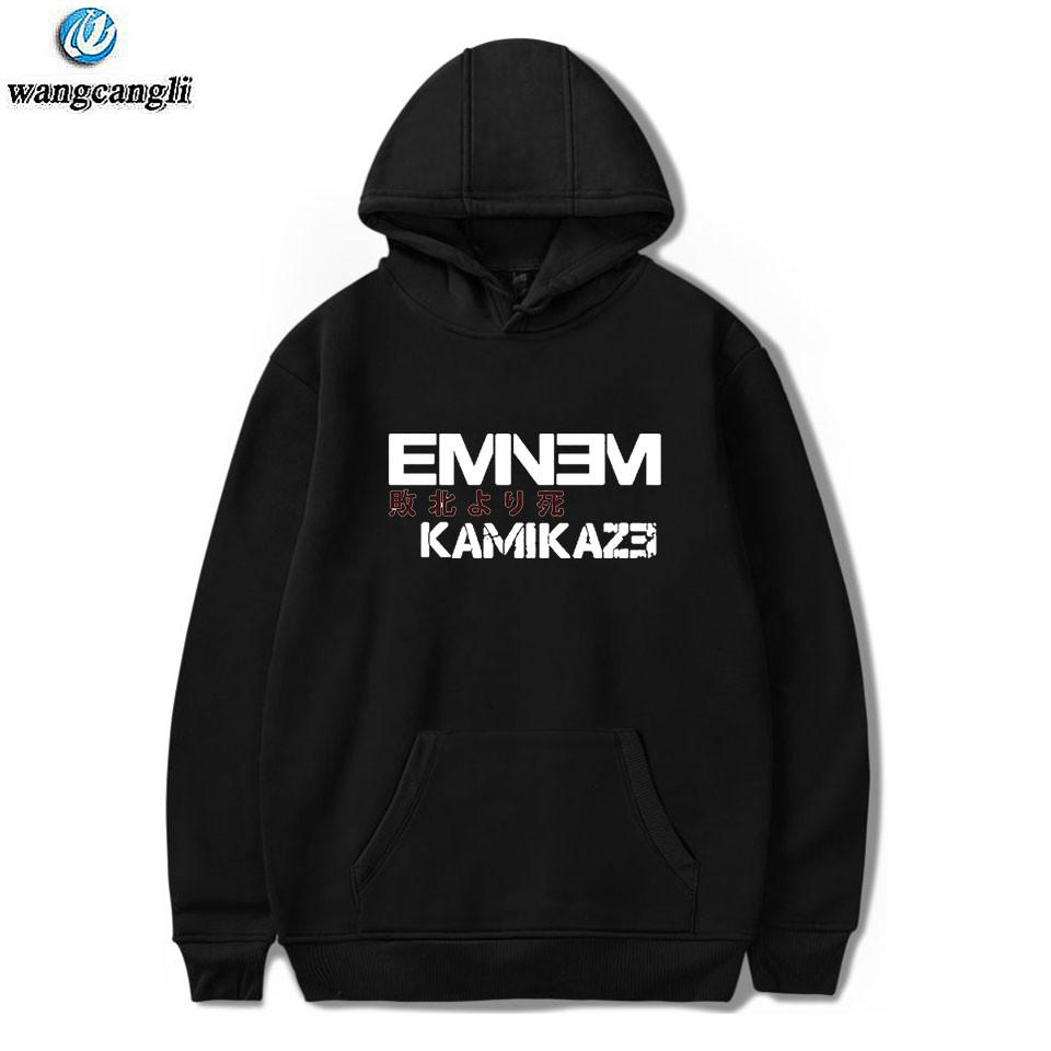 f300731c3 2019 EMINEM Kamikaze Hoodies Sweatshirts Men Women Harajuku Fashion ...