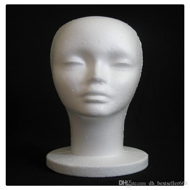 Mannequin Neutral Head Mannequin Practical Male and Female Mannequin Head Wigs Glasses Cap Display Holder Stand Model Hair Products