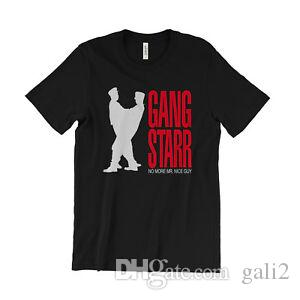 Gang Starr No More Mr  Nice Guy T Shirt - hip hop classic - DJ Premier GURU