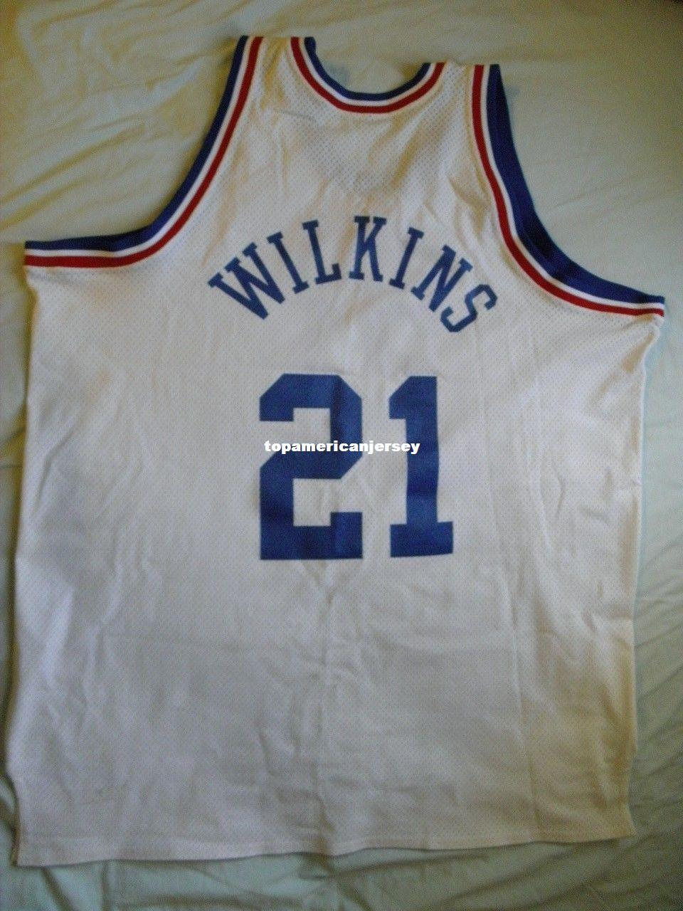d177770c7 2019 Mitchell Ness M N High Quality All Star Jersey  21 Dominique Wilkins  USA 54 USA XXL 2X Mens Vest Size XS 6XL Stitched Basketball Jerseys Nca  From ...
