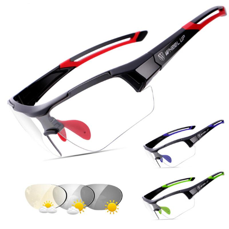Sport Photochromic Polarized Glasses Cycling Eyewear Bicycle Glass MTB Bike Sports Bicycle Riding Fishing Cycling Sunglasses