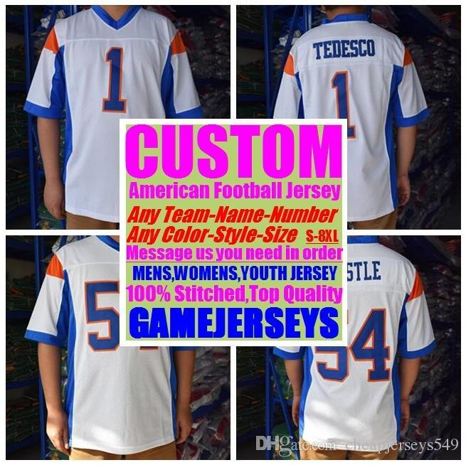 Personalized american football jerseys college cheap authentic rugby retro sports jersey stitched men womens youth kids 4xl 5xl 6xl 7xl 8xl