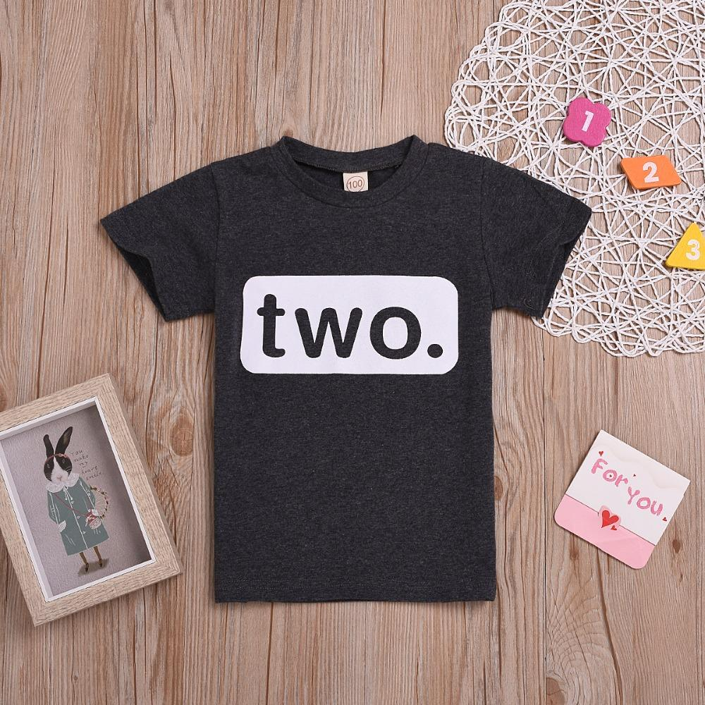 2019 New Hot 2nd Birthday Boys T Shirt 2 Year Old Toddler Kids Tee Outfit Second Two Party Clothes From Sugarher 3934