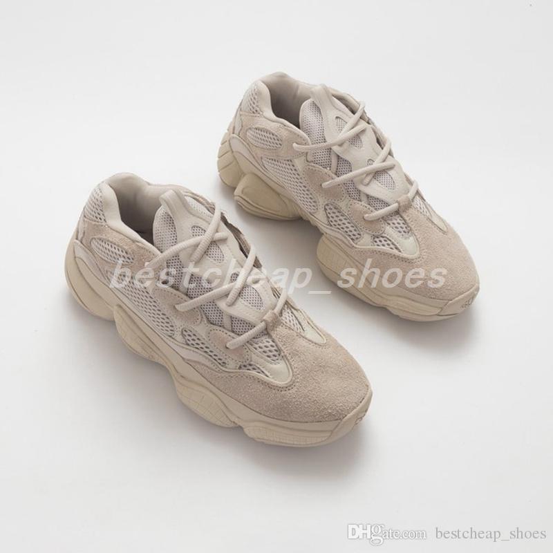 new styles 8347f 9ade5 2019 Adidas Yeezy Boost 500 Kanye Yeezys A Estrenar Boost 500 Salt Blush  Super Moon Yellow Utility Negro Mujer Hombre Zapatillas De Deporte  Zapatillas De ...
