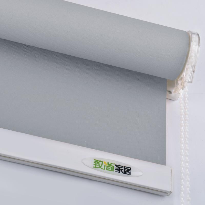 Tende a rullo grigie Tenda Sistema di trapano Ufficio Cucina Camera da  letto Tenda a mezza ombra Tende per finestre su misura
