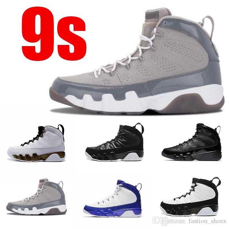 quality design 0a18a 72f3b New 2019 9S Cool Grey Bred IX Mop Melo Space Jam statue LA Anthracite men  basketball shoes 9 mens sports trainer sneakers shoe