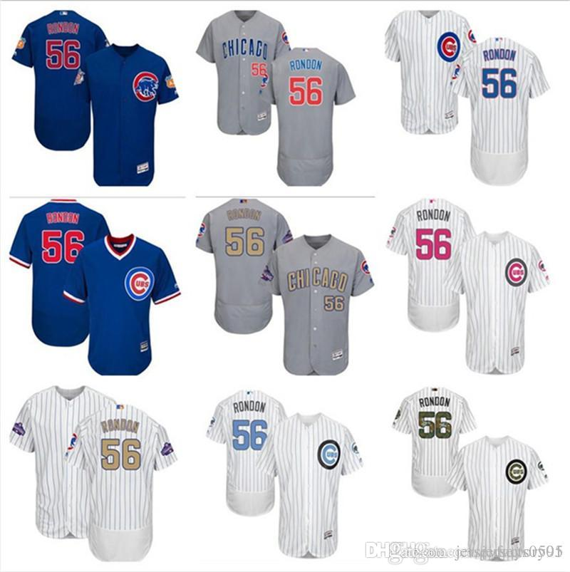 8c8bc0256ca 2019 2019 Custom Men S Women Youth Majestic Chicago Cubs Jersey  56 Hector  Rondon Home Blue Grey White Kids Girls Baseball Jerseys From  Jerseyfactory01