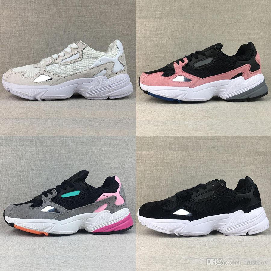 Livraison gratuite 2018 Falcon W Chaussures De Course Pour Haute Qualité Hommes Femmes Chaussures De Luxe Designer Baskets Originaux Jogging À