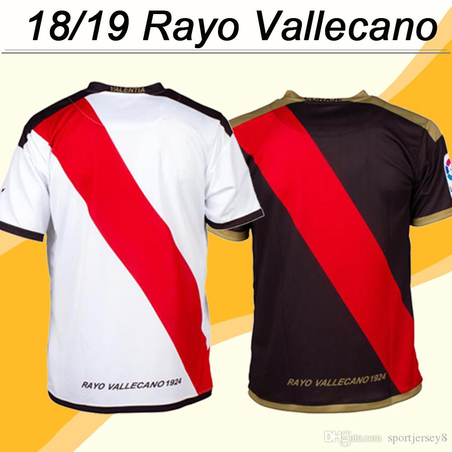 973fee253ab3 2018 19 Rayo Vallecano ALEX MORENO TREJO Soccer Jerseys RORADO ...