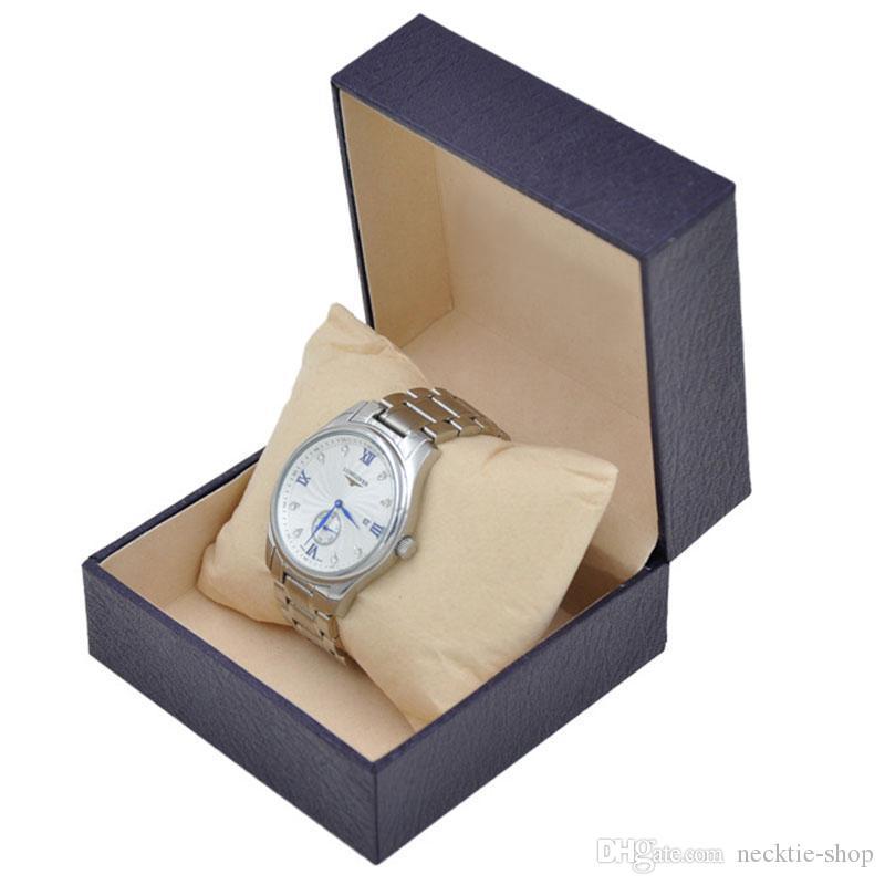 Nuova scatola di regalo di vetrina di orologio di lusso scatola di orologio in pelle orologio titolare di stoccaggio di gioielli alla ricerca di grossisti