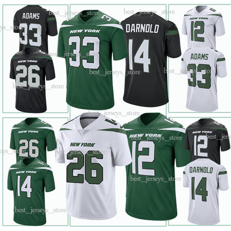 d16bd6e8e64 2019 14 Sam Darnold 33 Jamal Adams New York Jerseys Jets 12 Joe Namath High  Quality 2019 Men Jersey Design Sweater From Best_jerseys_store, $23.5 |  DHgate.