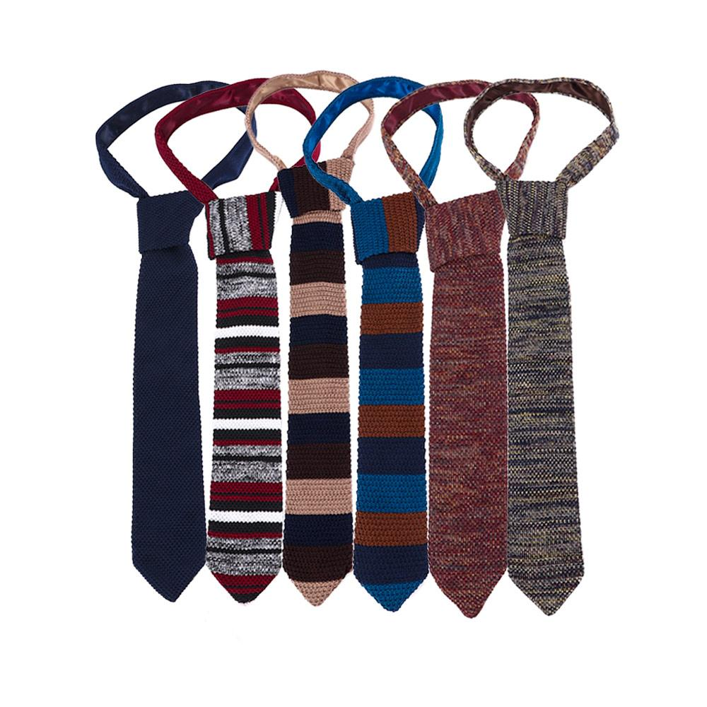 486da384c24 Woven Striped Knitted Slim Tie Skinny Cravats Classical Design Narrow  Neckties For Men Party Accessories Regalos Para Hombre Cheap Neckties Silk  Tie From ...