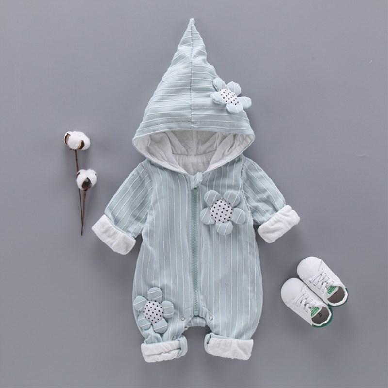 41d6c55b4fbe 2019 Fashion Baby Girls Romper Spring Winter Newborn Baby Clothes ...