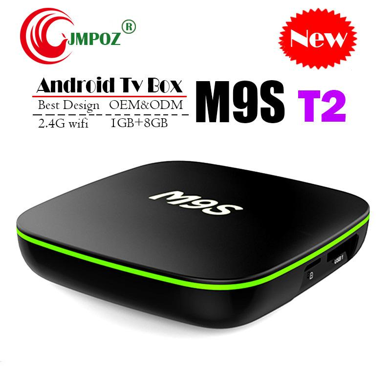 2019 Quad Core Android TV Box M9S T2 Quad Core 1 GB 8 GB 2 GB 16 GB 4K H.265 1080P Video-Streaming H3 IPTV-TV-Boxen Besser MXQ PRO TX3 X96 S905W