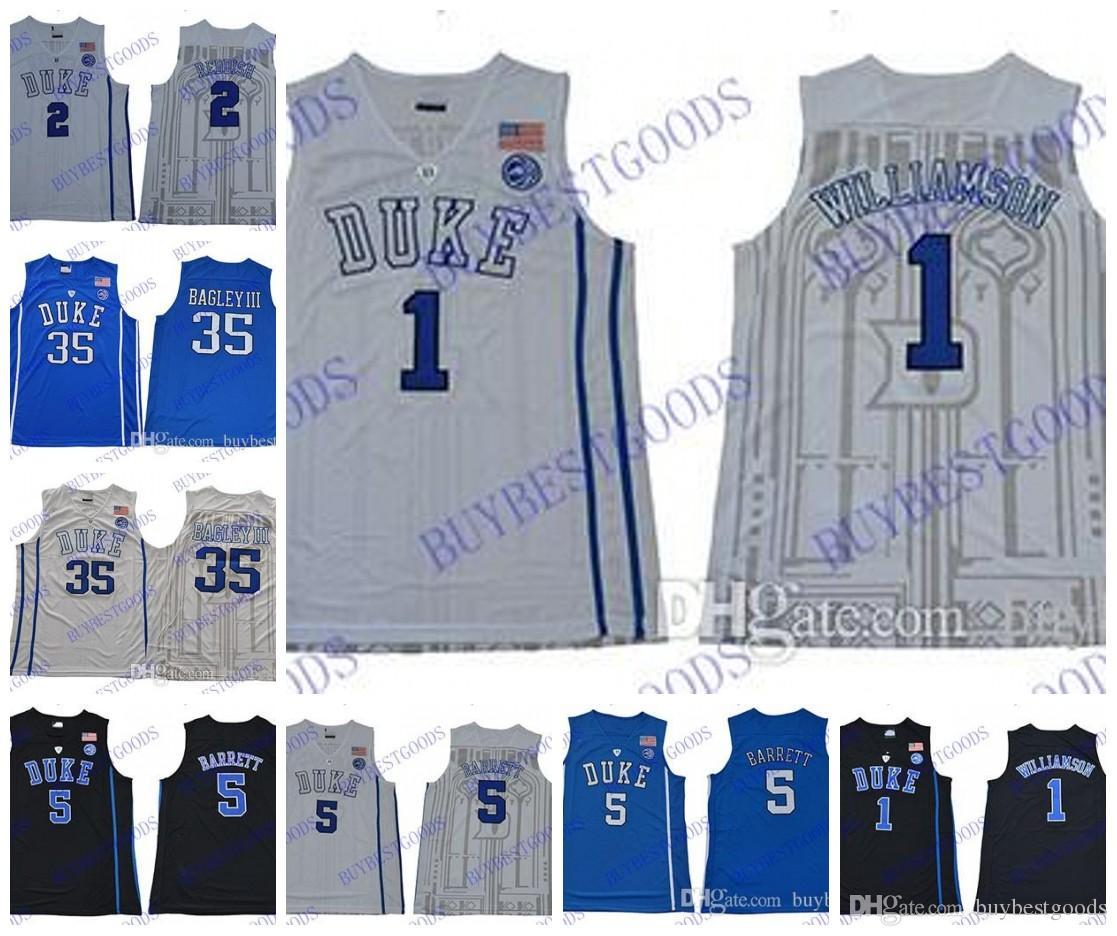 822356604e6 ... basketball elite stitched ncaa jersey f2af3 871f3  promo code ncaa duke blue  devils 1 zion williamson 5 rj barrett 35 bagley iii 2