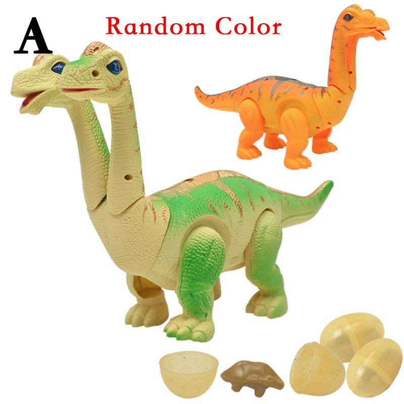 Electronic Dinosaur Action Figure Lay Eggs Toys Realistic Dinosaur with projection Voice and light Dinosaur toys
