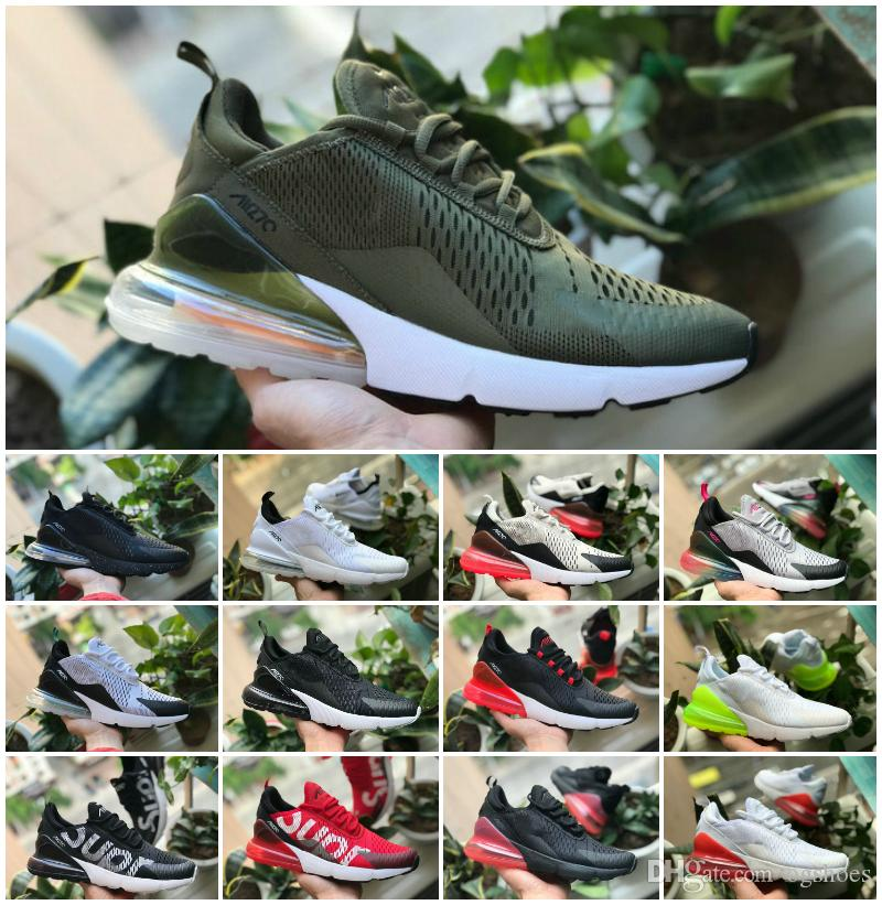 cfd206d57702 2019 Maxes Plus 270 Triple White Black Running Shoes Cheap France World Cup 270s  Air 97 TN Sneaker Off Presto Designer Sports Shoes Top Running Shoes ...