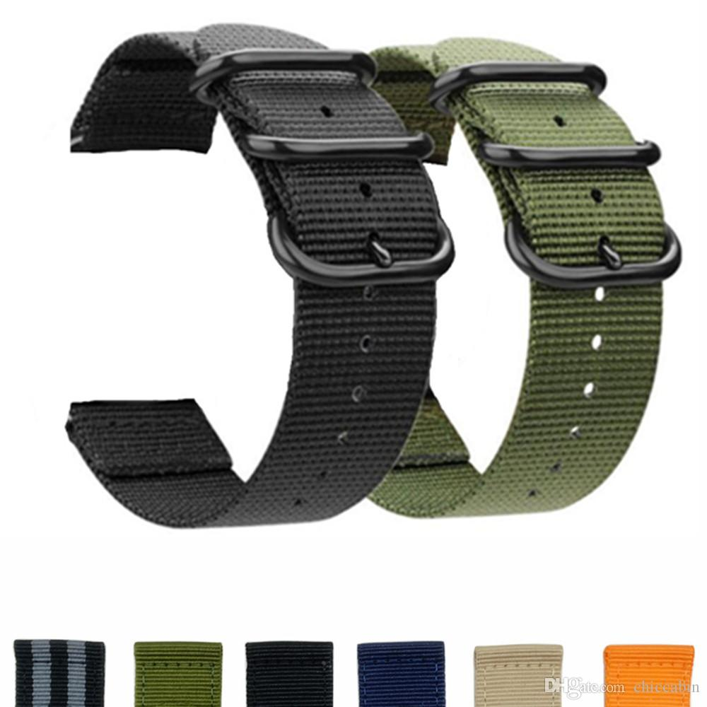 Soft Woven Nylon Watch Band Strap Sport Strap For Samsung Gear S3 Classic / Frontier