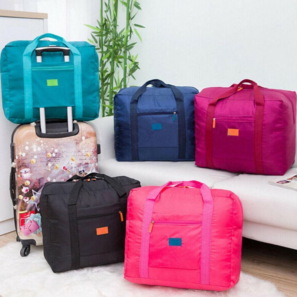 Portable Waterpoof Foldable Travel Luggage Baggage Storage Carry-On Duffle Bag Waterproof Travel Pouch Tote Bag Durable