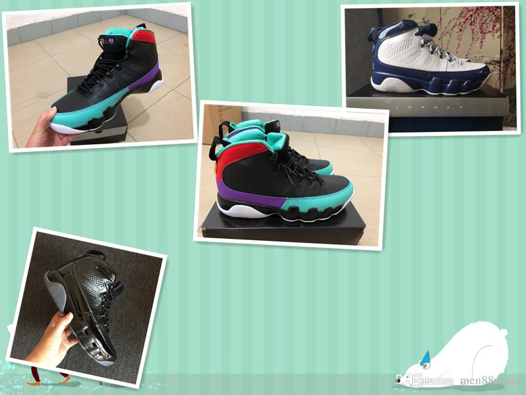 9719867c Compre 9 Dream It Do It Black University Red Dark Concord Zapatos Casuales  9s UNC Bred Sports Sneakers Con Caja De Envío Gratis A $95.43 Del  Men88shoes ...