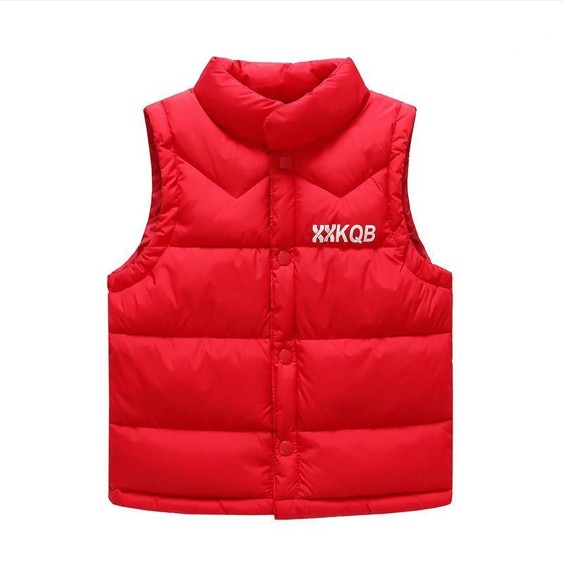1967b132bbe6 Good Qulaity Children Winter Vest for Boy Plus Velvet Snowsuit Kids ...