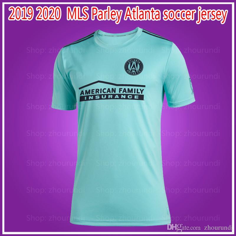 the best attitude bec43 019bb 2019 Parley MLS Atlanta United FC jerseys soccer jersey Football shirt 19  2020 MLS Parley Atlanta United jerseys MARTINEZ Football shirt