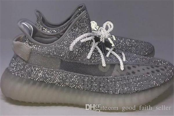 0d3802f6aef 2019 Static Kanye West Butter Semi Frozen Yellow Blue Tint Beluga ...