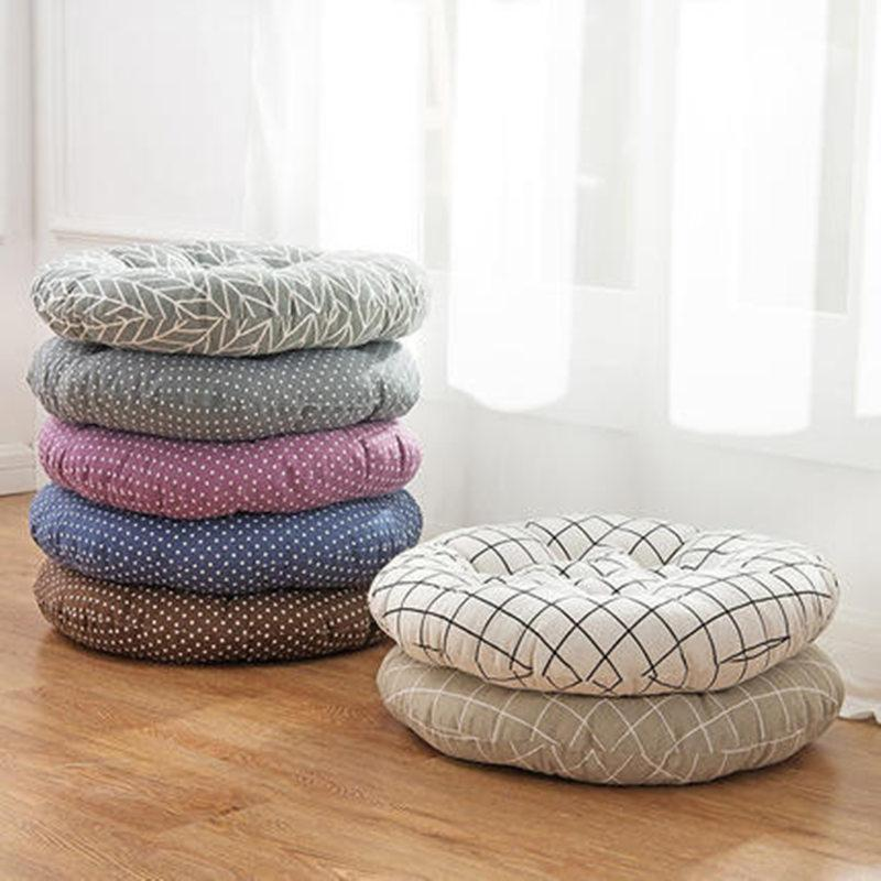 Simple Thicken Chair Cushions Round Car Seat Pad Tatami Floor Pad Mats  Almofada Decorativa Coussin Decorative Pillows For Home Cheap Outdoor Seat  Cushions ...