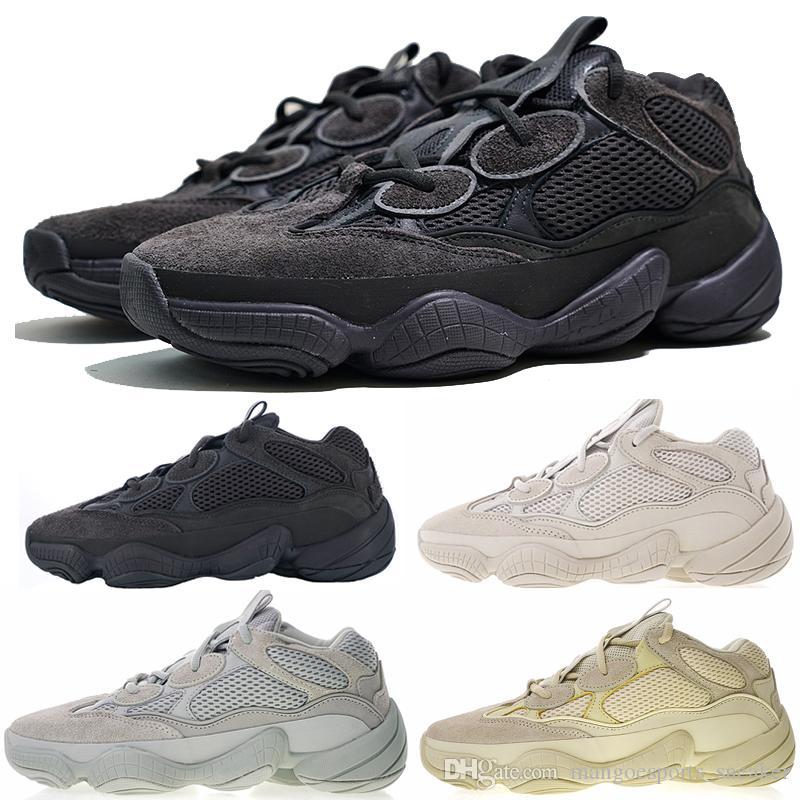 af89107ebf2e8 Compre Nuevo 500 Wave Runner Blush Utility Negro Super Moon Amarillo Desert  Rat Salt Zapatillas Deportivas Para Correr Kanye West Hombre Mujer  Zapatillas ...