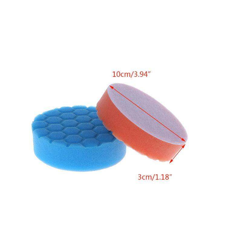 4 polegadas (100 mm) Buff Pad Polishing Pad kit para carro Polisher Pacote de 5pcs-Professional Quality Pack Of 5Pcs 40JE