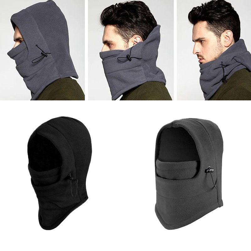 2020 2019 Original Men Black Snood Fleece Scarf Hood